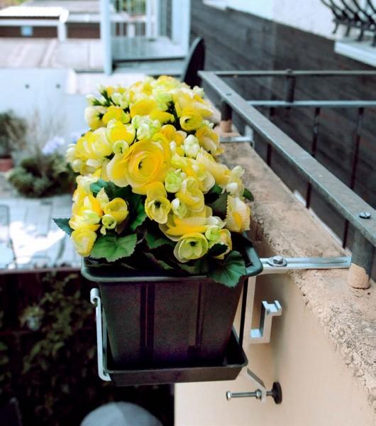 Universalhalter für Fensterbank + Balkon
